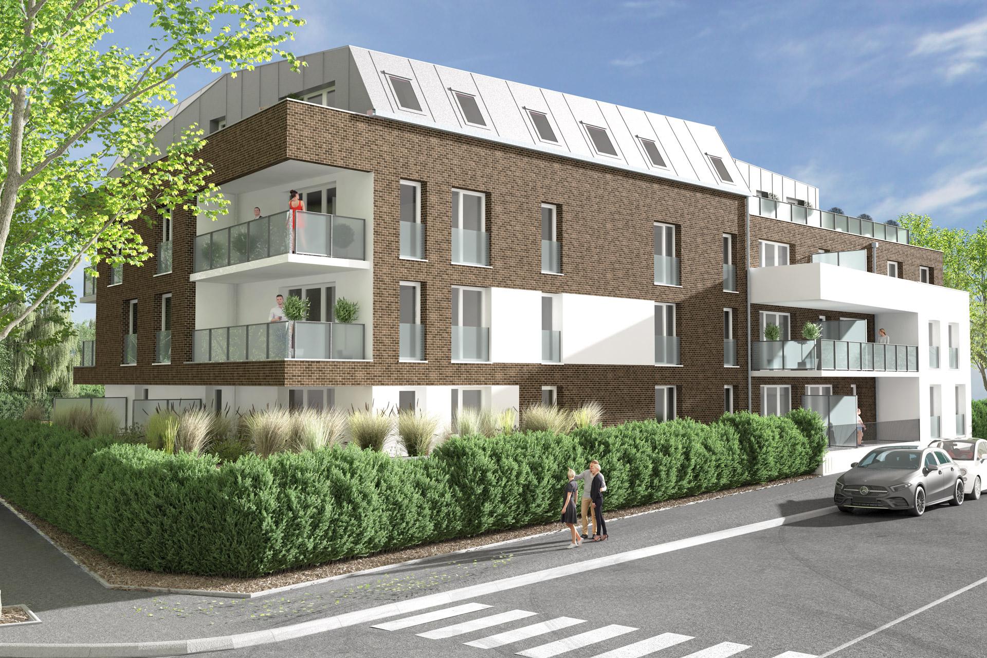 Résidence TEMPO à Croix - Appartements neuf - Loger habitat