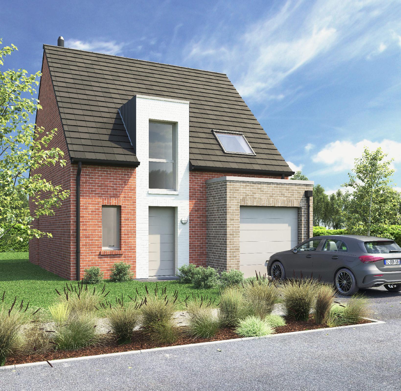 Modèle LUNA - Maison neuve 4 pièces - Loger Habitat